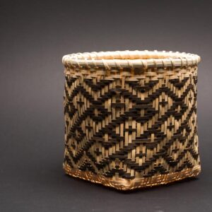 White Oak Basket: Man-in-a-Coffin Pattern