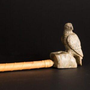 Soapstone Eagle Pipe 1