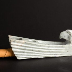 Soapstone Eagle Pipe 2