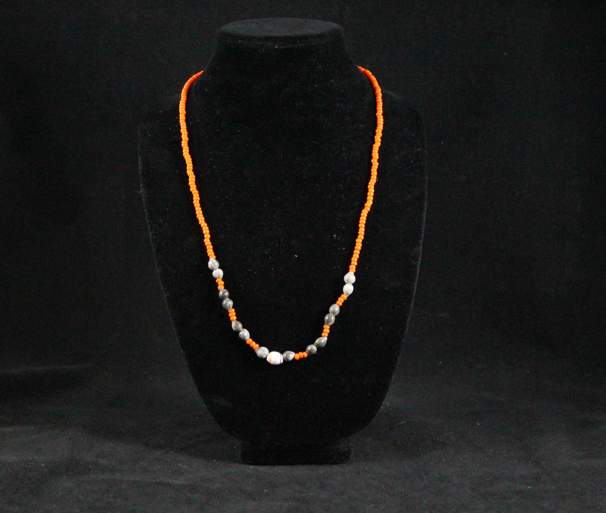 trade from labelle pin african by vinyl contemporary ikeya bead vulcanized necklace design heishi